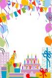 De partij van de verjaardag Vector Illustratie