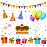 De partij van de verjaardag Stock Fotografie