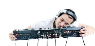 De partij van DJ Stock Fotografie