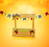 De Partij van Festajunina Stock Foto