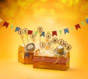 De Partij van Festajunina royalty-vrije stock foto
