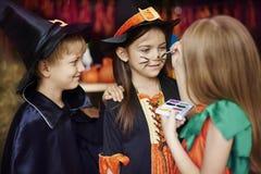 De partij van Halloween Royalty-vrije Stock Afbeeldingen