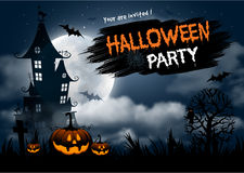 De partij van Halloween vector illustratie