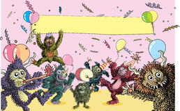 De Partij van het monster Royalty-vrije Stock Foto