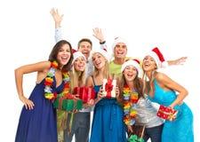 De Partij van Kerstmis Royalty-vrije Stock Afbeeldingen