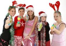 De Partij van Kerstmis Royalty-vrije Stock Foto