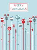 De partij van Kerstmis Royalty-vrije Stock Afbeelding