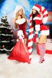De partij van Kerstmis Royalty-vrije Stock Fotografie