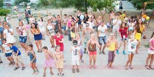 De partij van kinderen openlucht Royalty-vrije Stock Foto