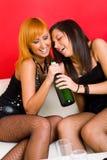 De partij van meisjes Stock Foto's