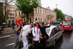 De partij van studenten Royalty-vrije Stock Afbeelding