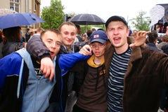 De partij van studenten Royalty-vrije Stock Foto's