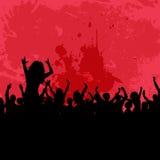 De partijachtergrond van Grunge Stock Fotografie
