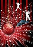 De partijaffiche van de disco Stock Afbeelding