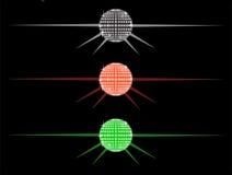 De partijballen van de disco Stock Afbeelding