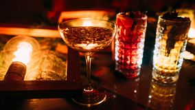 De partijbar drinkt verfrissende drankfestiviteit Royalty-vrije Stock Fotografie