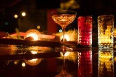De partijbar drinkt verfrissende drankfestiviteit Royalty-vrije Stock Afbeeldingen