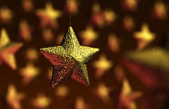 De partijdecoratie van Kerstmis Stock Foto's