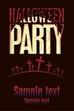 De partijen van Halloween stock illustratie