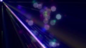 De partijlaser steekt 23 Loopable Achtergrond aan stock footage