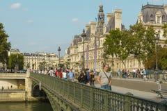 de, Paryski urzędu miasta budynek, Paryż, Francja Fotografia Stock