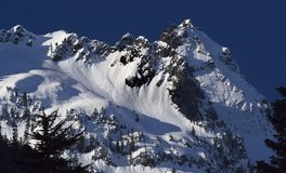 De Pas Alpental Washington van Snoqualme royalty-vrije stock foto