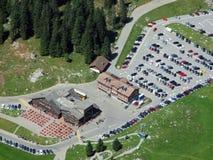 De pas of Der Schwägalppass van de Schwägalpberg royalty-vrije stock afbeeldingen
