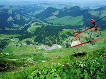 De pas of Der Schwägalppass van de Schwägalpberg royalty-vrije stock afbeelding