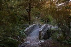 De Pas Nationaal Park van Arthur ` s, Nieuw Zeeland stock fotografie