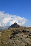 De Pas van Bernina stock foto's