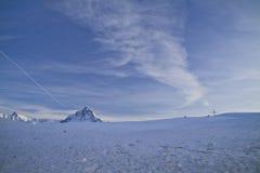 De Pas van Bernina stock fotografie