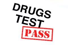 De Pas van de drugstest stock illustratie