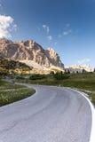 De Pas van Falzarego - Dolomiet - 2105 m Royalty-vrije Stock Foto's