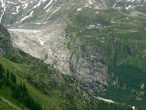 De Pas van Furka, Zwitserland Royalty-vrije Stock Afbeelding