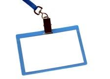 De pas van identiteitskaart van de veiligheid Royalty-vrije Stock Afbeeldingen