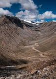 De pas van Khardungla Stock Foto's