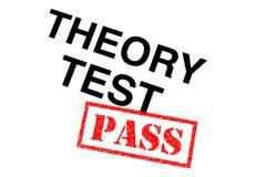 De Pas van de theorietest vector illustratie