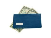 De pasboek van de spaarrekening Royalty-vrije Stock Afbeelding