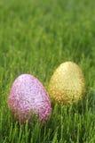De Pascua todavía de los huevos vida colorida con la luz natural Foto de archivo libre de regalías