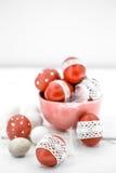 De Pascua todavía de los huevos vida roja Imagen de archivo libre de regalías