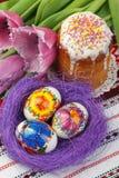 De Pascua todavía del día de fiesta vida Fotos de archivo
