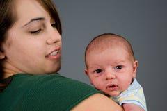 De pasgeboren Jongen van de Baby Stock Foto