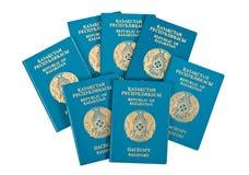 De paspoorten van Kazachstan Royalty-vrije Stock Fotografie