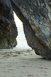De passage van het strand stock foto