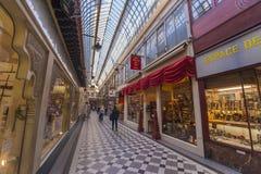 In de Passage van Parijs Stock Afbeelding