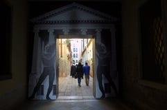 De passage van Venetië Stock Afbeelding