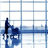 De passagier van de luchthaven stock foto's