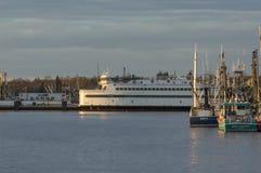 De passagier van het eilandhuis/voertuigveerboot Royalty-vrije Stock Afbeeldingen