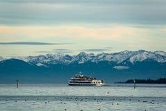 De passagiersschip van het Meer van Konstanz Royalty-vrije Stock Foto's