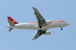 De passagiersstraal van Colombia van Avianca stock foto's